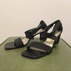 90's Laura Scott Elastic Strappy Heels